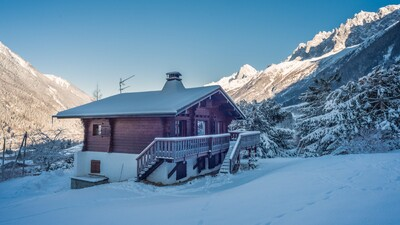 Chalet Charme in mid winter