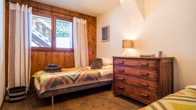 Twin/Double room at Chalet Charme