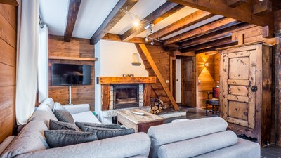 Chalet Charme living space