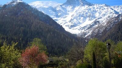La route au Chalet Charme