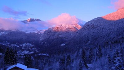 Narnia winter sunset 2